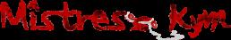 Logo www.MistressKym.com Young Amateur Kinky Domme optimized