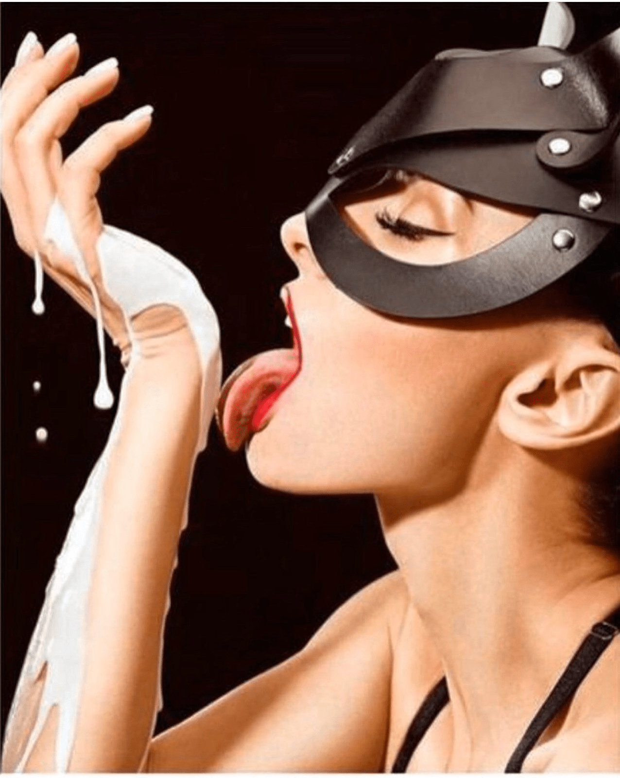 The Purpose of Wearing Masks in a Femdom Couple